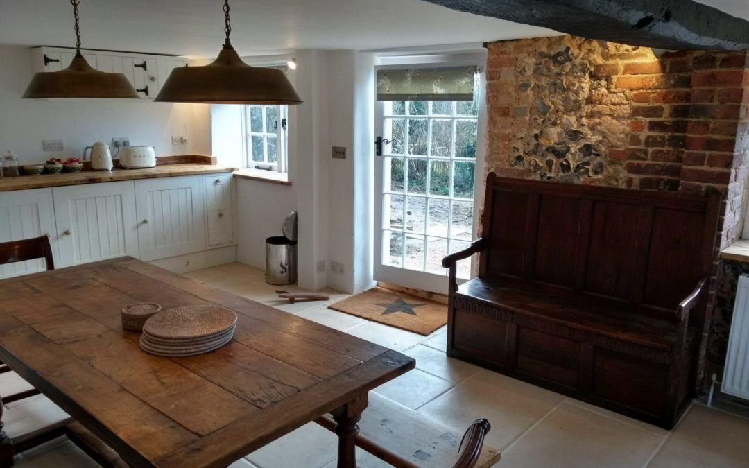 Complete rewire 3 bed cottage Arundel, West Sussex